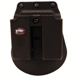 Fobus Double Mag Pouch 9mm Solo/Nano/LC9/P239, Paddle