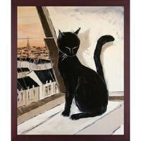 Atelier De Jiel 'Black Cat is a Paris Master' Fine Art Print on Canvas