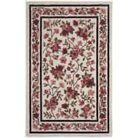 Garden Hideaway Brown Nylon Accent Rug (1'8 x 2'10)