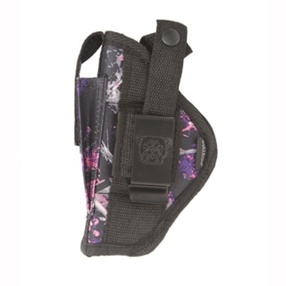 Bulldog Cases Belt Holster, Ambidextrous Muddy Girl Camo, Compact Auto