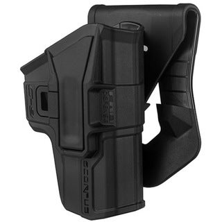 Mako Group Scorpus Paddle/Belt Holster Glock 9/40, Black, Right Hand