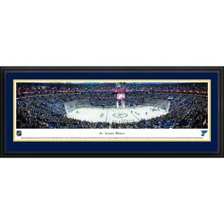 Saint Louis Blues - Center Ice - Blakeway Panoramas Framed NHL Print
