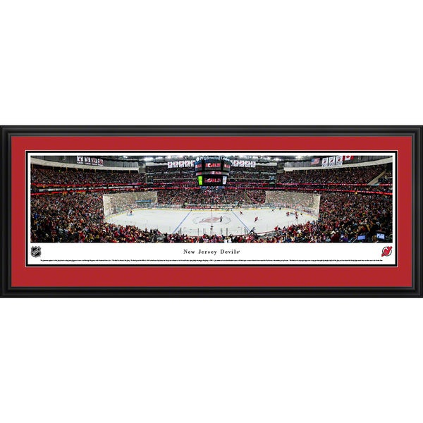 Blakeway Panoramas New Jersey Devils Framed NHL Print