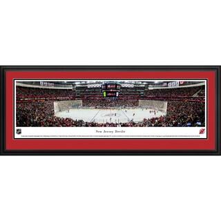 Blakeway Panoramas New Jersey Devils Framed NHL Print