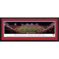 Houston Cougars Football - 50 Yd Line - Blakeway Panoramas Framed Print