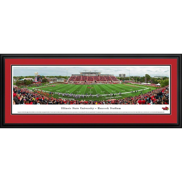 Arkansas Razorback Football - Stripe 50 Yd - Blakeway Panoramas Framed Print