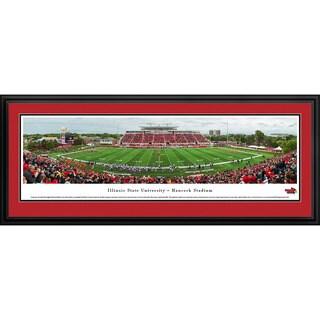 Arkansas Razorback Football - Stripe 50 Yd - Blakeway Panoramas Framed Print