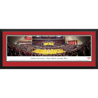 Indiana Univesity Basketball - Blakeway Panoramas Framed Print