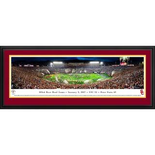 USC Trojans - Rose Bowl 2017 Champions - Blakeway Panoramas Framed Print