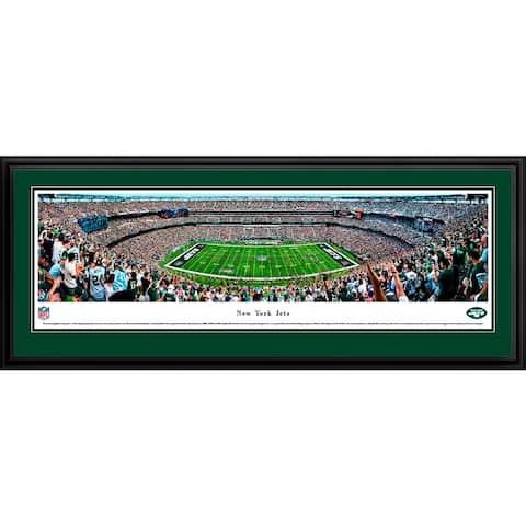 New York Jets - Blakeway Panoramas Framed NFL Print