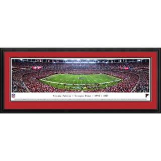 Atlanta Falcons - Final Game at Georgia Dome - Blakeway Panoramas Framed NFL Print