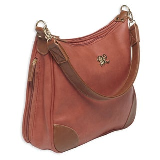 Bulldog Cases Hobo Style Purse w/Holster Brick Red/Tan
