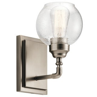 Kichler Lighting Niles Collection 1-light Antique Pewter Wall Sconce