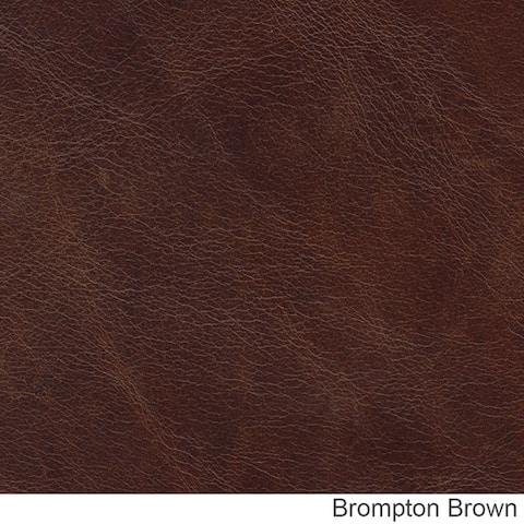 Middleton Genuine Top Grain Leather Nailhead Trimmed Loveseat