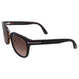 Tom Ford Unisex's FT0290 Rock 01F - Black Sunglasses