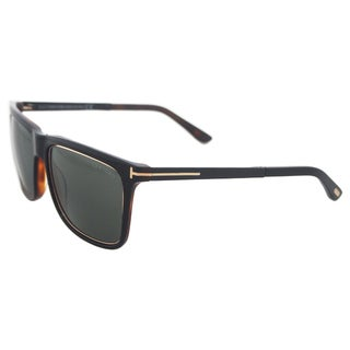 Tom Ford Men's FT0392 01R Karlie - Black/Gold Polarized Sunglasses