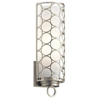 Kichler Lighting Melrose Collection 1-light Brushed Nickel Wall Sconce
