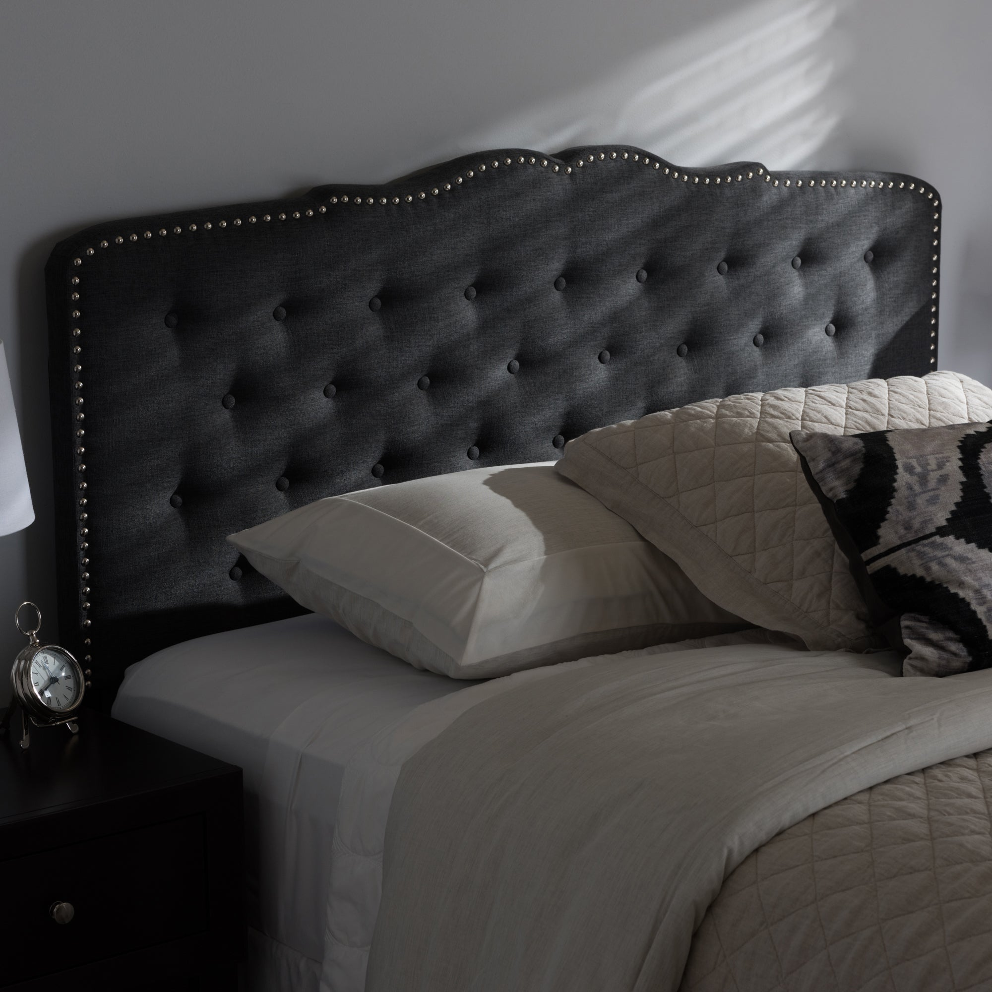 Contemporary Fabric Headboard by Baxton Studio