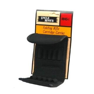 Uncle Mikes Cordura Cartridge Carrier, Black Folding Rifle 10 Loop