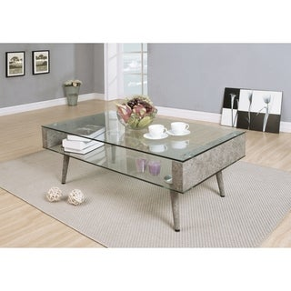 Acme Furniture Boyd Glass Coffee Table
