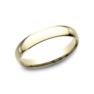Men's 18k Yellow Gold 3mm Comfort-fit Traditional Wedding Band