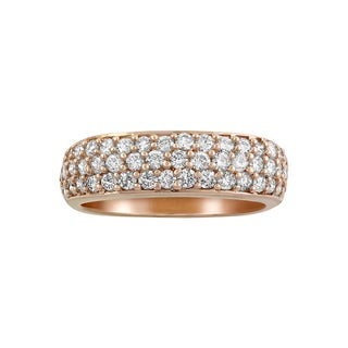 Beverly Hills Charm 14K Pink Gold 1ct TDW Diamond Band Ring (H-I, SI2-I1)