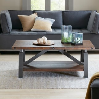 INK+IVY Lancaster Amber Coffee Table