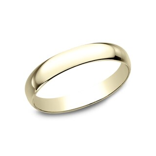 Men's 18k Yellow Gold 3MM Traditional Wedding Band - 18K Yellow Gold