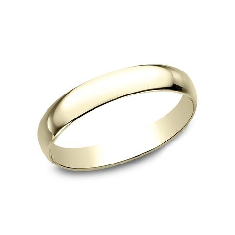 Women's 18k Yellow Gold Traditional Wedding Band - 18K Yellow Gold - 18K Yellow Gold
