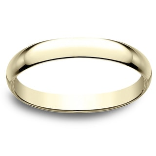 Men's 18k 2.5mm Yellow Gold Traditional Wedding Band