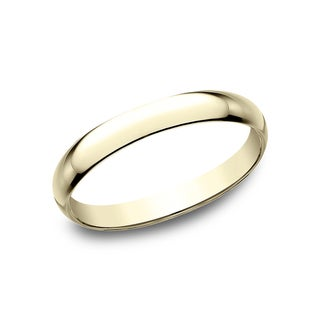 18k Yellow Gold 2.5mm Traditional Wedding Band - 18K Yellow Gold