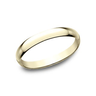 Ladies 18k 2.5mm Yellow Gold Traditional Wedding Band - 18K Yellow Gold