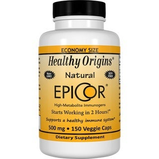 Healthy Origins EpiCor (Clinically Proven Immune Support) 500 mg (150 Veggie Capsules)