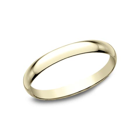 18k Yellow Gold 2mm Traditional Wedding Band - 18K Yellow Gold - 18K Yellow Gold
