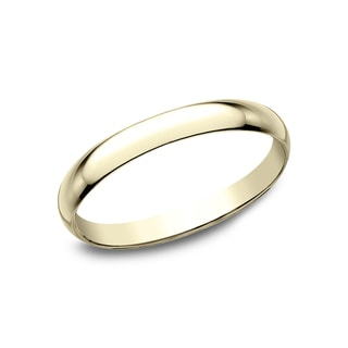 18k Yellow Gold 2mm Traditional Wedding Band - 18K Yellow Gold