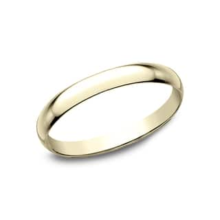 Ladies 18k Yellow Gold 2mm Traditional Wedding Band