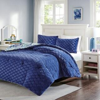 Intelligent Design Kayla Printed Reversible Comforter Mini Set 2 Color Option