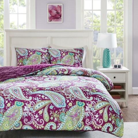 Intelligent Design Kayla Printed Reversible Comforter Mini Set 2-Color Option