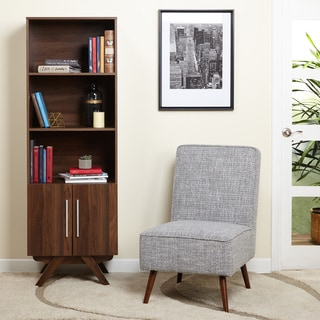 Simple Living Contemporary Walnut finish Ashfield Bookcase