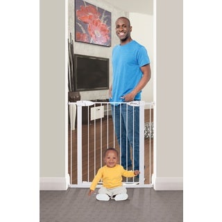 Dreambaby White Boston Xtra-Tall Opening Auto Close Gate