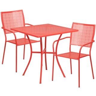 Karako 3-piece Artistic Designed Red Bistro Set