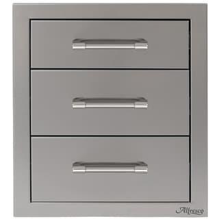 Alfresco Three Tier Storage Drawers - AXE-3DR