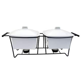 Le Chef Ceramic Serving Trays (Set of 2)|https://ak1.ostkcdn.com/images/products/14220788/P20813162.jpg?impolicy=medium