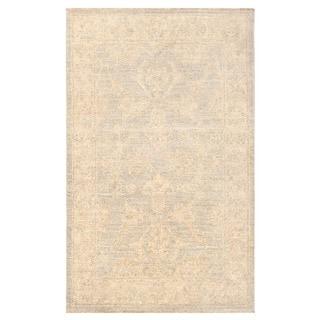 Herat Oriental Afghan Hand-knotted Vegetable Dye Oushak Wool Rug (2'1 x 3'3)