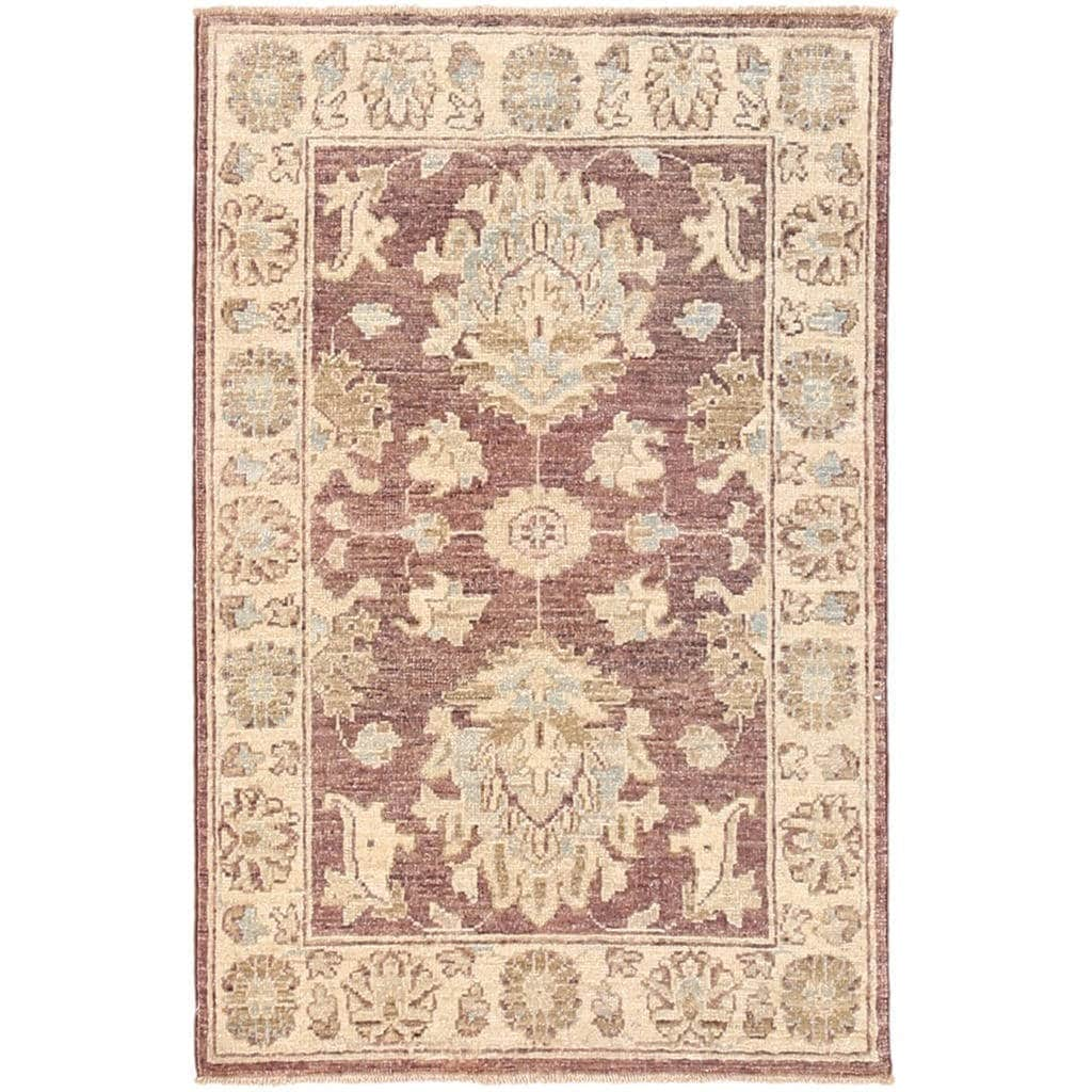 Herat Oriental Afghan Hand-knotted Vegetable Dye Oushak W...