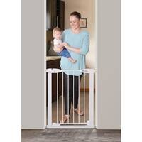 Dreambaby White Boston Slimline Gate 24-26.5 inches
