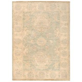 Herat Oriental Afghan Hand-knotted Vegetable Dye Oushak Wool Rug (2'2 x 3')