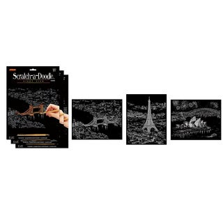 Artlover Nightview Scratch-a-doodle (Pack of 3)