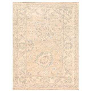 Herat Oriental Afghan Hand-knotted Vegetable Dye Oushak Wool Rug (2'2 x 2'9)
