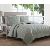 Estate Collection Leaf Stitch II Quilt Set